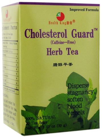 HEALTH KING TEA - Cholesterol Guard Herb Tea