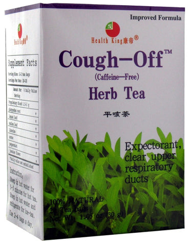 HEALTH KING TEA - Cough-Off Herb Tea