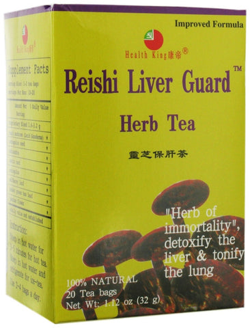 HEALTH KING TEA - Reishi Liver Guard Herb Tea