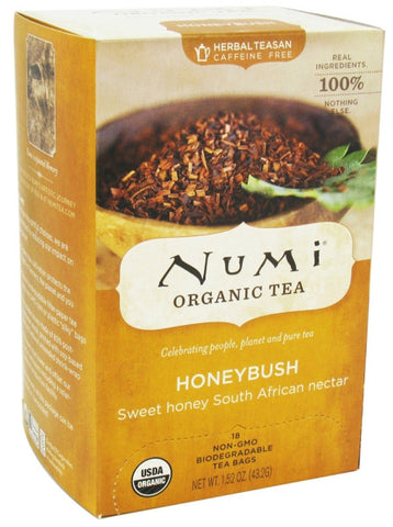 Numi Tea Honeybush Bushmens Brew Tea
