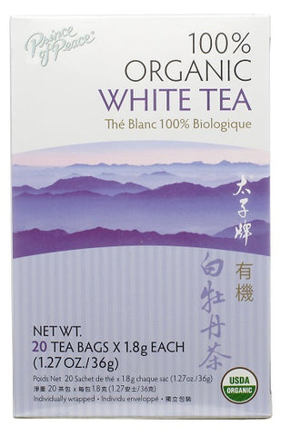 Prince Of Peace Organic White Tea