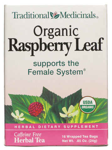 Traditional Medicinal Organic Raspberry Leaf