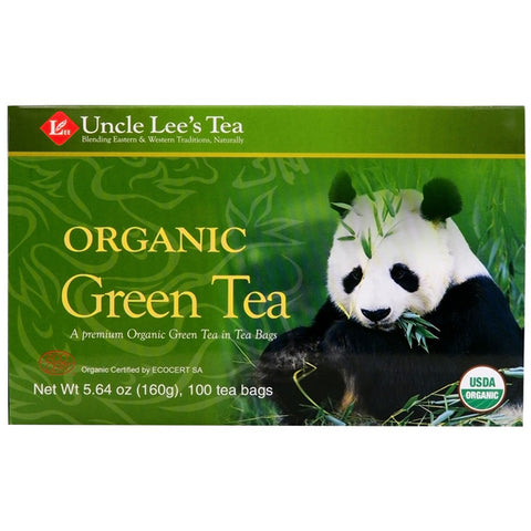 UNCLE LEE'S TEA - Legends of China Organic Green Tea