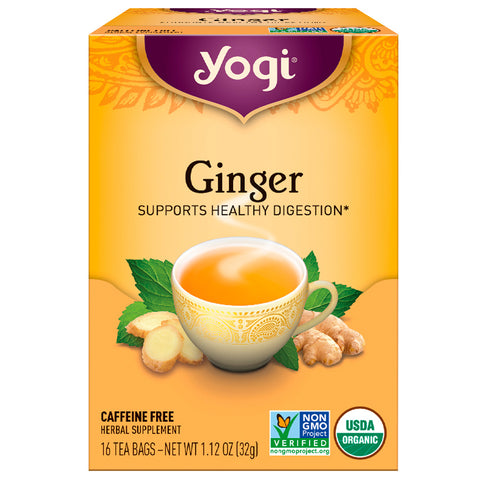 YOGI TEA - Ginger Organic Tea