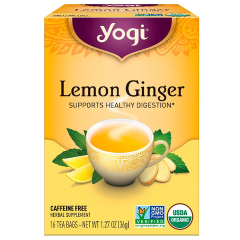 YOGI TEA - Lemon Ginger Organic Tea