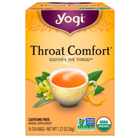YOGI TEA - Throat Comfort Tea