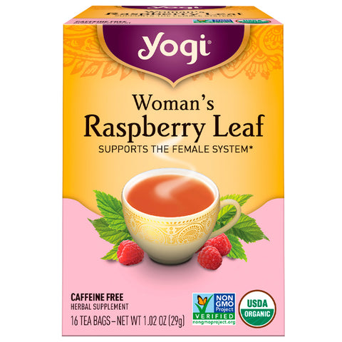 YOGI TEA - Womans Raspberry Leaf Tea