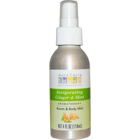 AURA CACIA - Room and Body Mist Invigorating Ginger and Mint