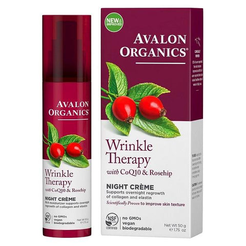 AVALON - Wrinkle Therapy with CoQ10 & Rosehip Night Creme