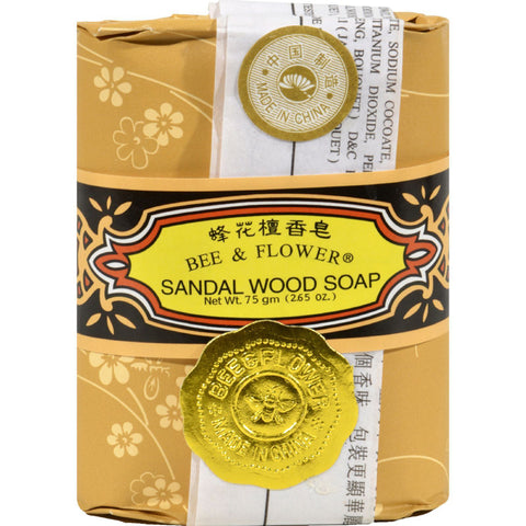 BEE & FLOWER - Bar Soap Sandalwood