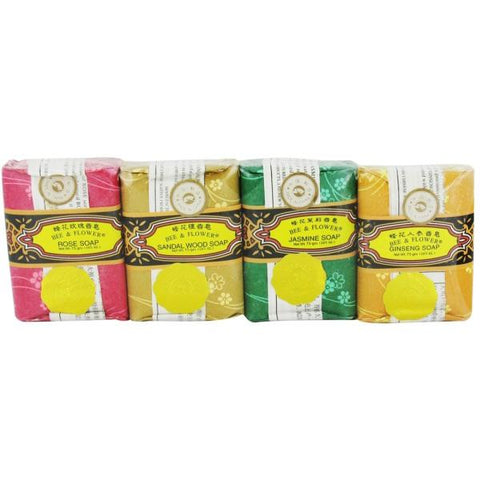 BEE & FLOWER - Bar Soap Variety Pack