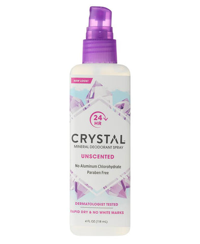 CRYSTAL - Mineral Deodorant Spray, Unscented