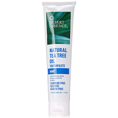 DESERT ESSENCE - Natural Tea Tree Mint Toothpastes