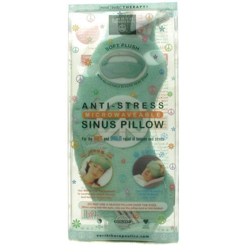 EARTH THERAPEUTICS - Anti-Stress Microwaveable Sinus Pillow