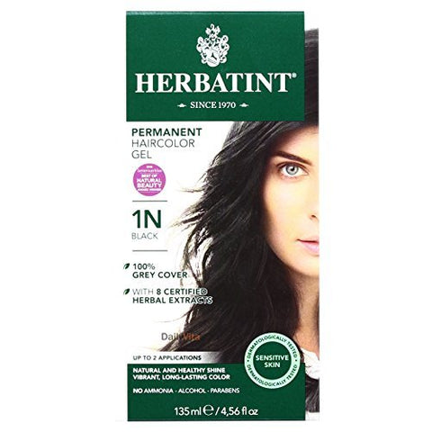 Herbatint Hair Color Black 1N