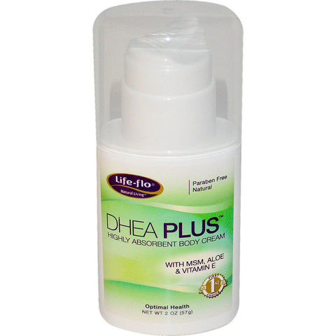 LIFE-FLO - DHEA Plus, Highly Absorbent Body Cream