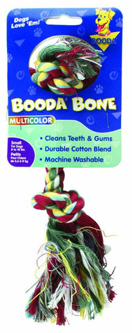 Booda 2 Knot Rope Bone Multicolor Small