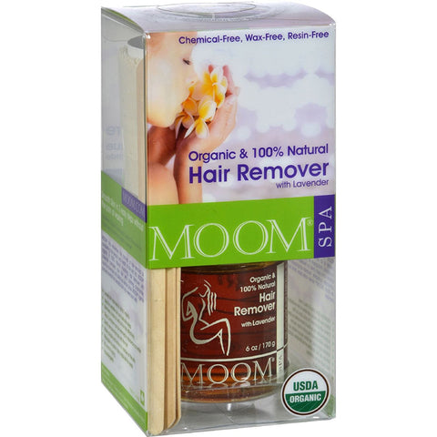 MOOM - Organic Hair Removal Kit with Lavender