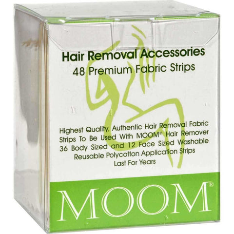MOOM - Hair Removal Fabric Strips
