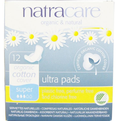 NATRACARE - Natural Feminine Maxi Pads Super
