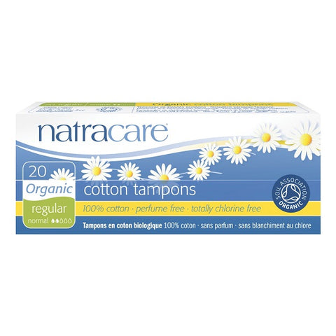 NATRACARE - Organic Regular Tampons
