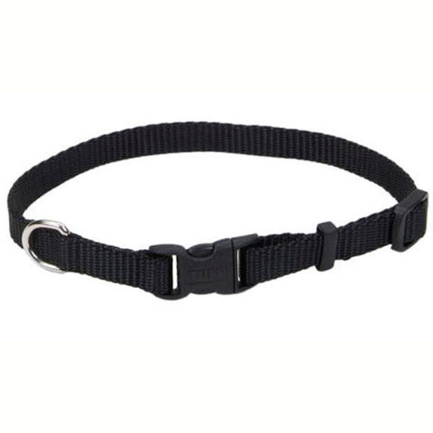 Nylon Adjustable Collar Small Black