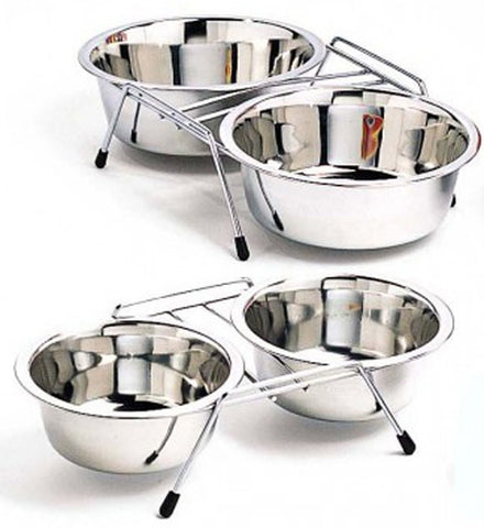 Stainless Steel Double Diner Dish