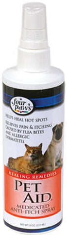 FOUR PAWS - Pet Aid Medicated Anti-Itch Spray for Dogs