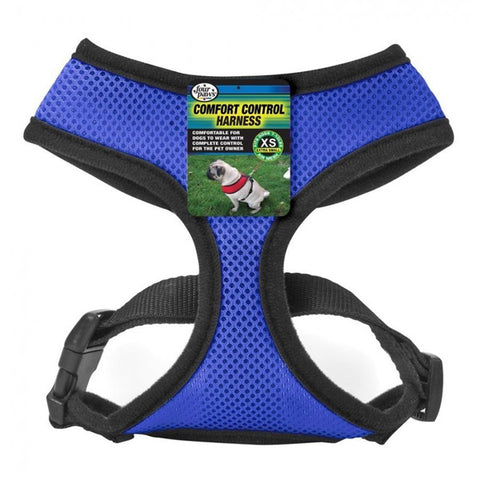 FOUR PAWS  - Comfort Control Harness X-Small Blue