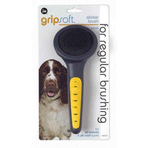 JW PET GripSoft Slicker Brush for Pets Small