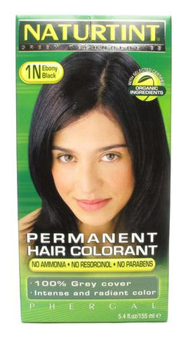 Naturtint Permanent Hair Colorant Ebony Black 1N