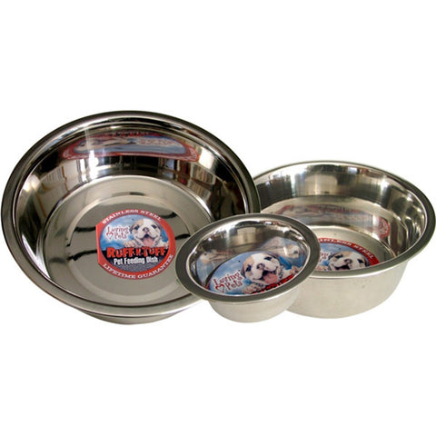 1 Quart Standard Stainless Steel Mirrored Bowl