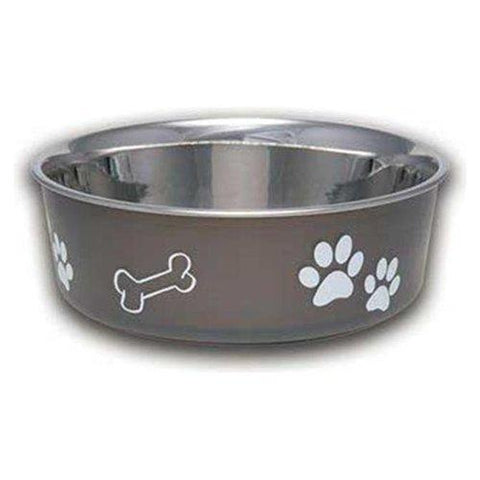 Bella Espresso Pet Bowl Medium - 1 Bowl