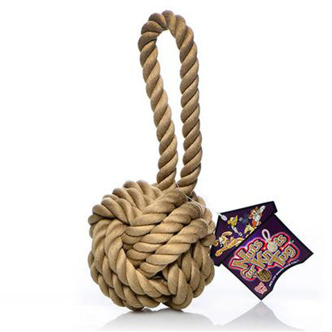 Nuts for Knots with Tug Dog Toy 3.5 Inch Small