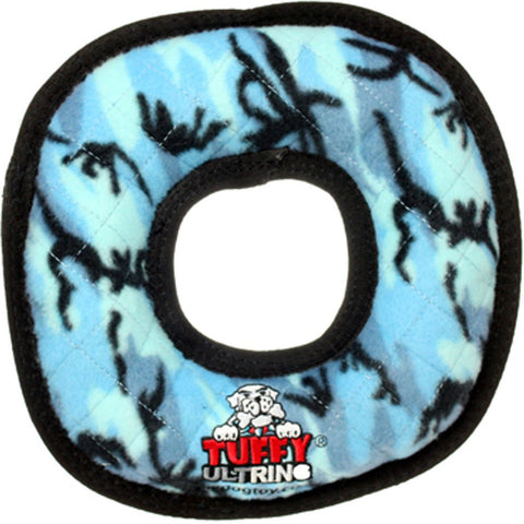 TUFFY - Ultimate Ring in Blue Camo Dog Toy