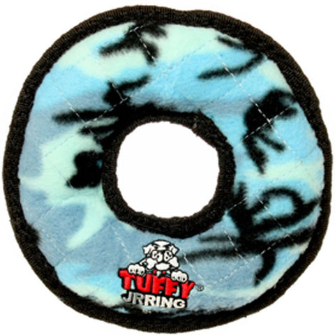 TUFFY - Junior Ring in Blue Camo Dog Toy