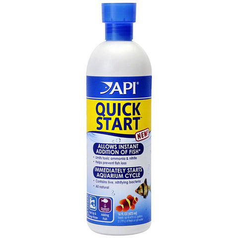 API - Quick Start Water Conditioner for Aquariums