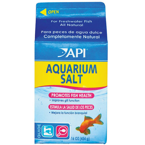 API - Freshwater Aquarium Salt Water Conditioner