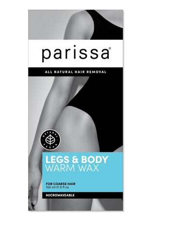 Parissa Microwaveable Warm Wax  Legs Body Face