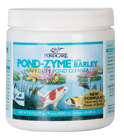 Aquarium Pharmaceuticals - PondCare Pond-Zyme with Barley - 8 oz. (227 g)