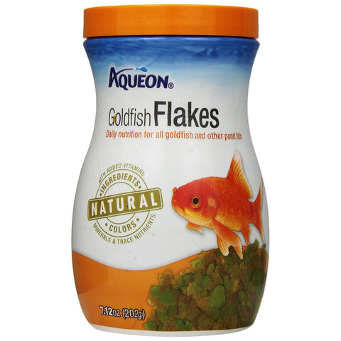 AQUEON - Goldfish Food Flakes