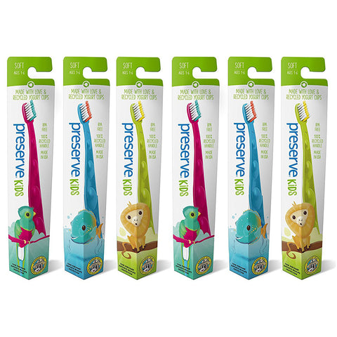 PRESERVE - Junior Soft Toothbrush Display Case