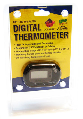 Coralife - Battery Powered Digital Thermometer