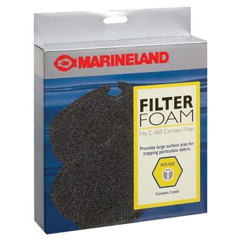 Marineland - Filter Foam PCML for 360 Canister Filter - 2 Pack
