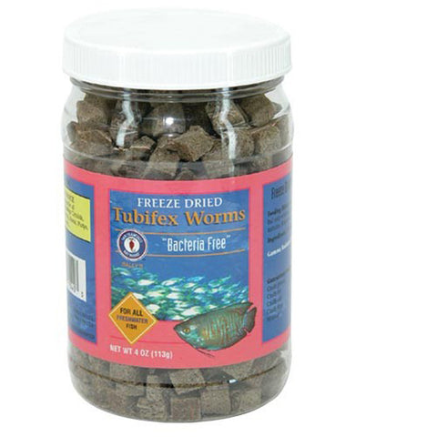 San Francisco Bay Brand - Freeze Dried Tubifex Worms - 4 oz. (113 g)