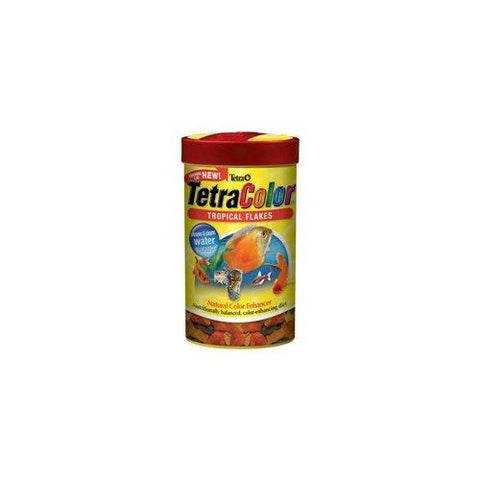 Tetra Usa Inc. - TetraColor Tropical Flakes - 2.82 oz. (80 g)