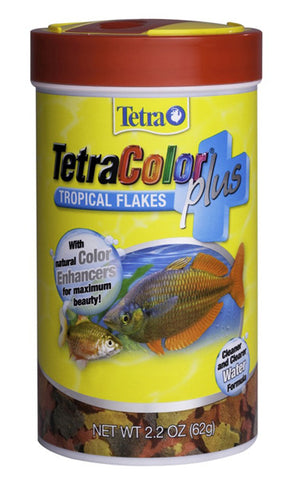 Tetra Usa Inc. - TetraColor Plus Tropical Flakes - 7.06 fl. oz. (200 g)