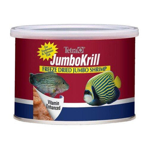 Tetra Usa Inc. - JumboKrill Freeze Dried Jumbo Shrimp - 1.4 oz. (40 g)