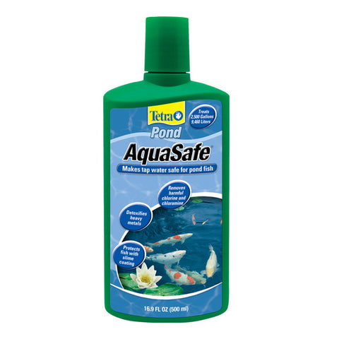 Tetra Usa Inc. - AquaSafe Pond Conditioner - 16.9 fl. oz. (500 ml)