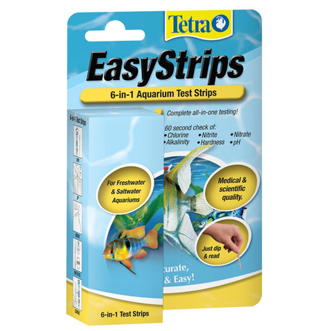 TETRA - EasyStrips 6-in-1 Aquarium Ammonia Test Kit